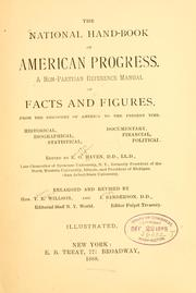 Cover of: The national hand-book of American progress | Erastus Otis Haven