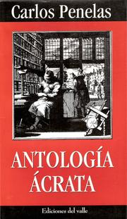 Cover of: Antología ácrata