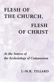 Cover of: Flesh of the church, flesh of Christ