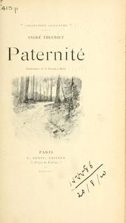 Cover of: Paternité