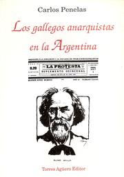 Cover of: Los gallegos anarquistas en la Argentina
