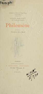 Cover of: Philomène