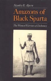 Cover of: Amazons of black Sparta | Stanley B. Alpern