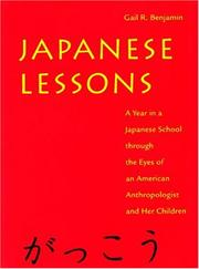 Cover of: Japanese lessons