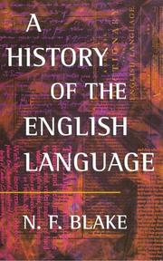 Cover of: A history of the English language