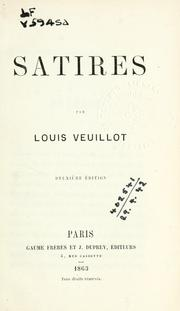 Satires by Veuillot, Louis