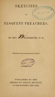 Cover of: Sketches of eloquent preachers