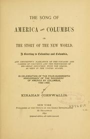 Cover of: The song of America and Columbus