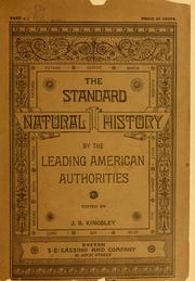 Cover of: The standard natural history. |