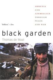 Cover of: Black Garden | Thomas de Waal