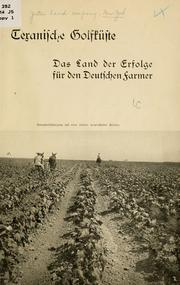 Cover of: Texanische golfküste ... | Jester land company, New York