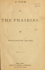 Cover of: A tour of the prairies