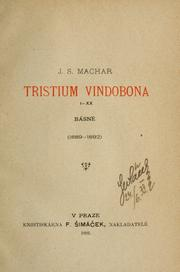 Cover of: Tristium Vindobona, I-XX