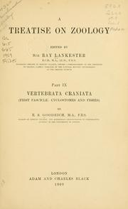 Cover of: Vertebrata craniata