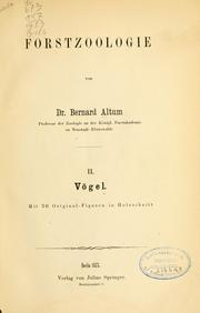 Cover of: Vögel