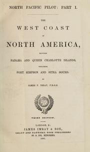 The west coast of North America by James F. Imray