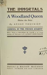 Cover of: A woodland queen