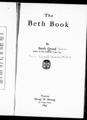 Cover of: The Beth book |