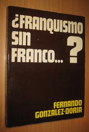Cover of: Franquismo sin Franco...?