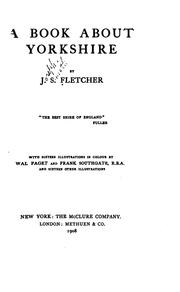 Cover of: book about Yorkshire | Joseph Smith Fletcher