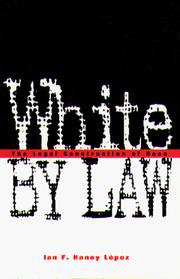 Cover of: White by law