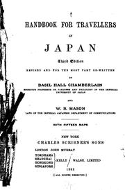 Cover of: handbook for travellers in Japan | John Murray (Firm)