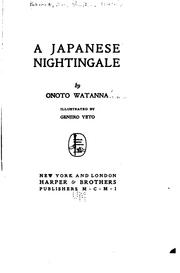Cover of: A Japanese nightingale