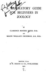 Cover of: A laboratory guide for beginners in zoology