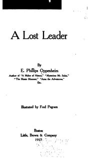 Cover of: A Lost Leader