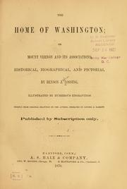Cover of: The home of Washington