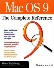 Cover of: Mac OS 9