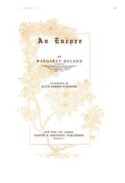 Cover of: An encore