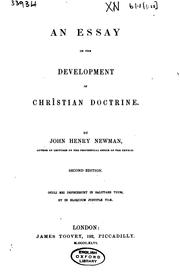 essay development christian doctrine 1845 An essay on the development of christian doctrine publication date 1845 topics catholic church, theology, doctrinal -- history.