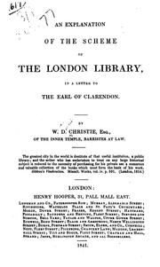 Cover of: Ab exploration of the scheme of the London library