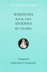 Ramayana, a Holy Bible of India by Vālmīki.