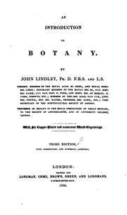 Cover of: An introduction to botany: 2d ed., with corrections and numerous additions.