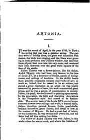 Cover of: Antonia: a novel