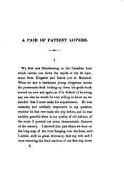 Cover of: pair of patient lovers | William Dean Howells