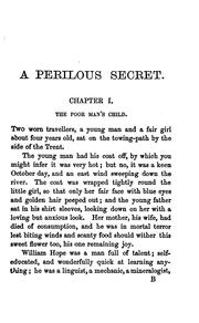 Cover of: A perilous secret