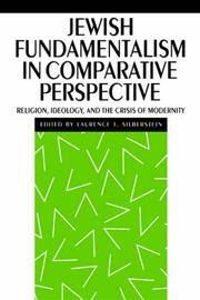 Cover of: Jewish fundamentalism in comparative perspective
