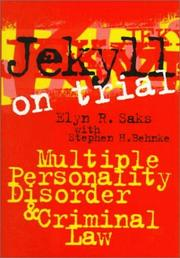 Cover of: Jekyll on trial
