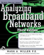 Analyzing broadband networks by Miller, Mark