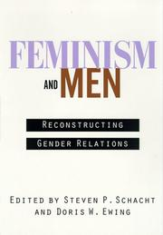 Cover of: Feminism and Men |
