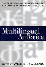 Cover of: Multilingual America | Werner Sollors