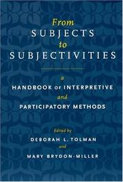 From subjects to subjectivities