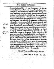 Cover of: A sacred panegyrick, or by Stephen Marshall