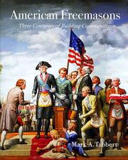 Cover of: American Freemasons | Mark Tabbert