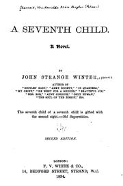 Cover of: seventh child. | John Strange Winter