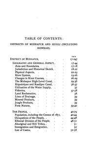 Cover of: A statistical account of Bengal