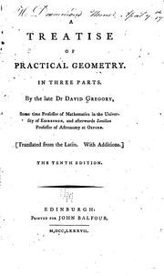 Cover of: Exercitatio geometrica